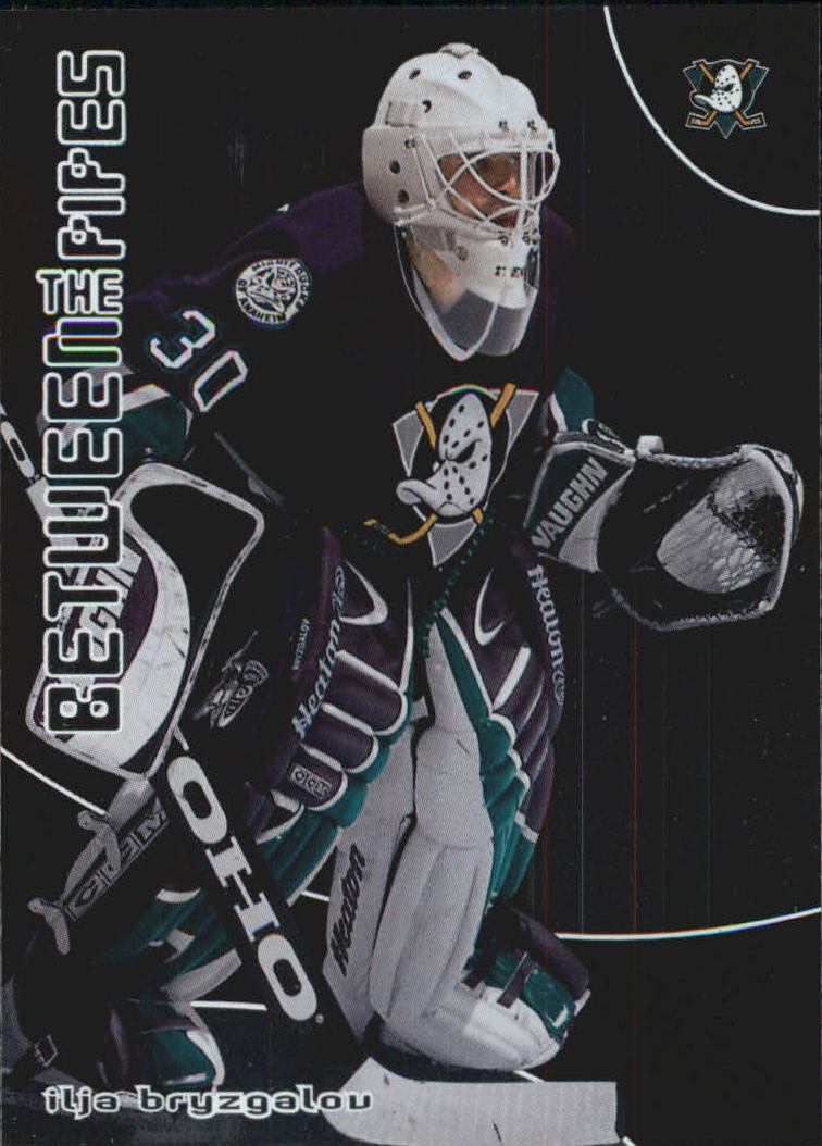 2001-02 Between the Pipes #84 Ilja Bryzgalov RC
