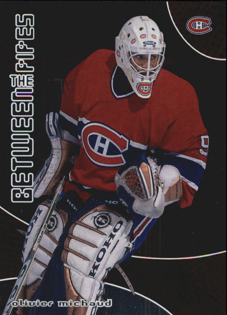 2001-02 Between the Pipes #85 Olivier Michaud RC