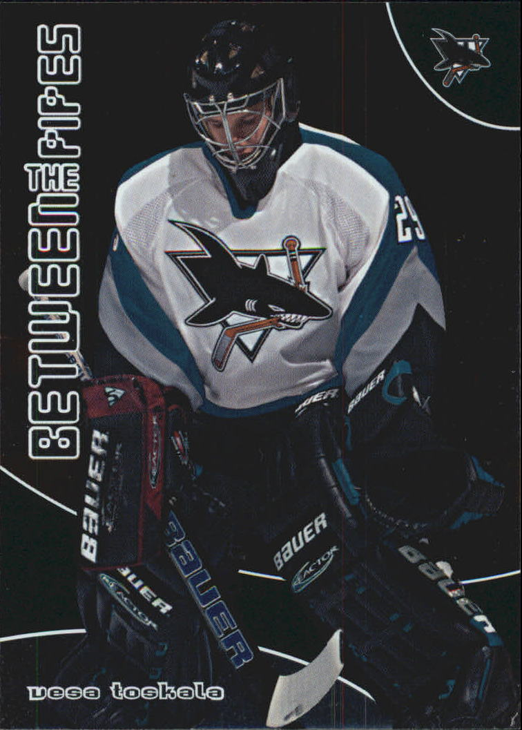 2001-02 Between the Pipes #86 Vesa Toskala