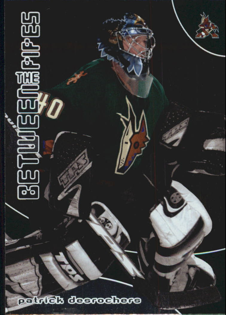 2001-02 Between the Pipes #88 Patrick Desrochers