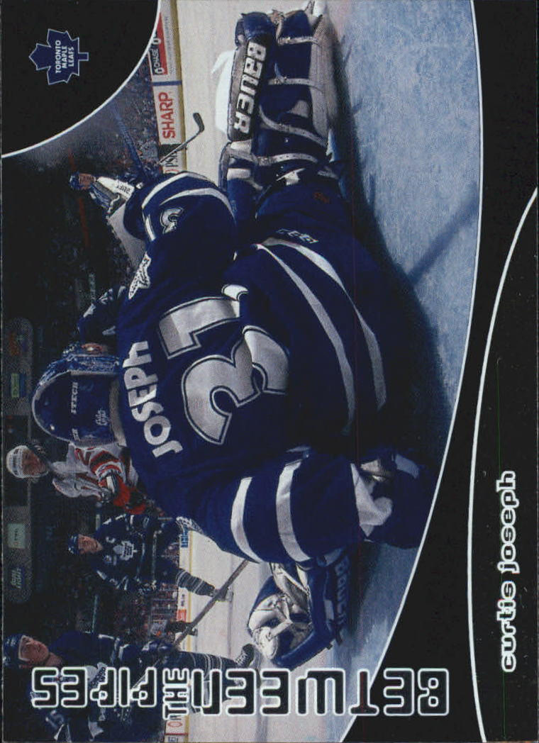 2001-02 Between the Pipes #97 Curtis Joseph