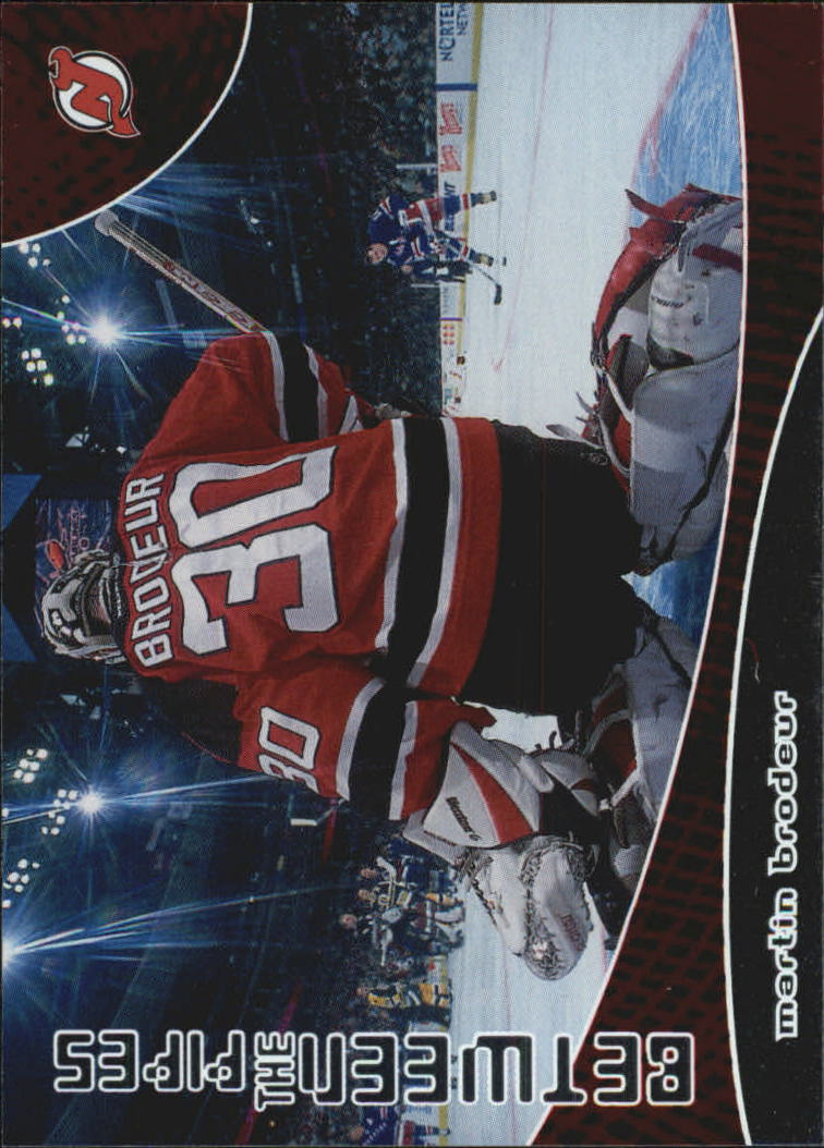 2001-02 Between the Pipes #98 Martin Brodeur
