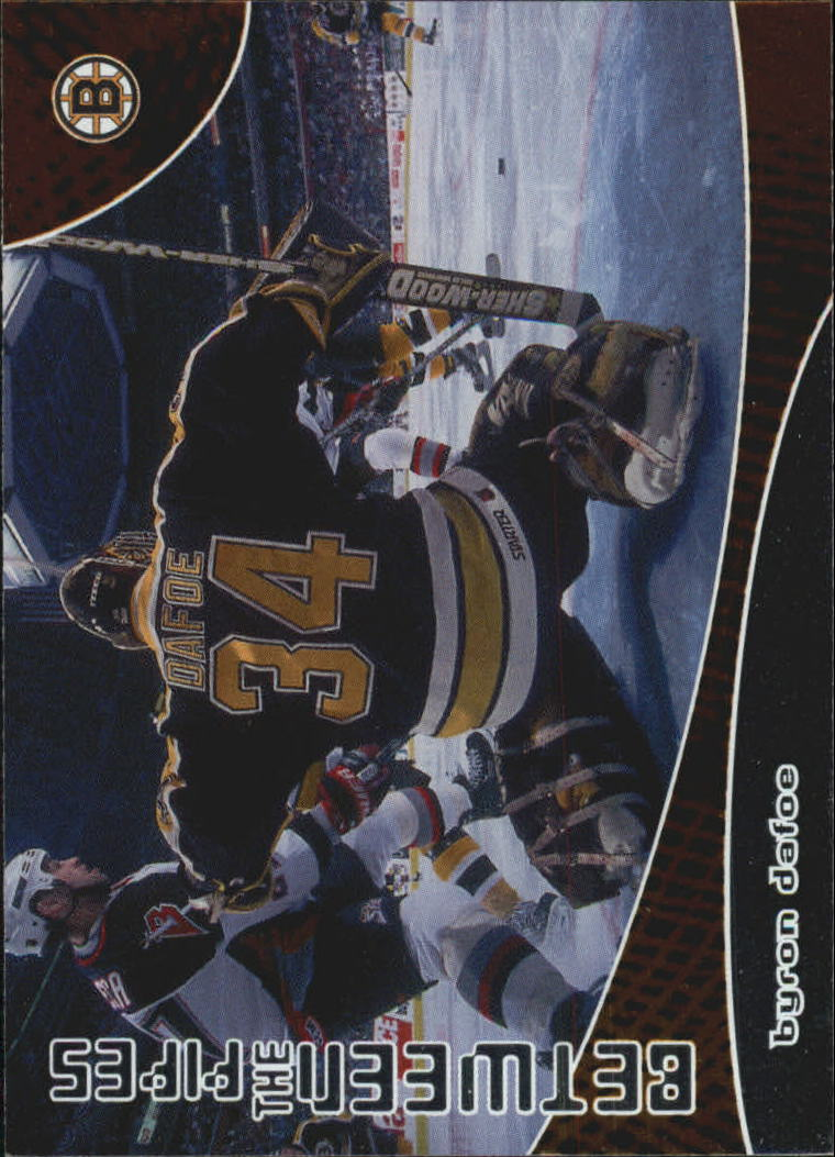 2001-02 Between the Pipes #106 Byron Dafoe