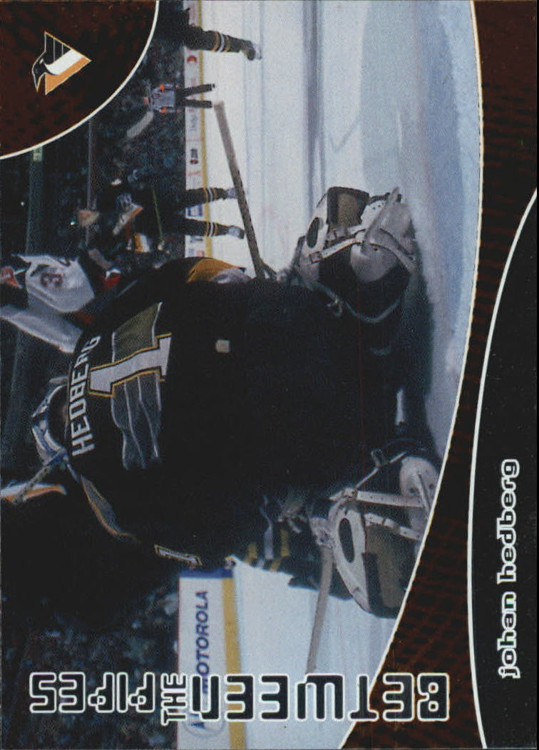 2001-02 Between the Pipes #107 Johan Hedberg
