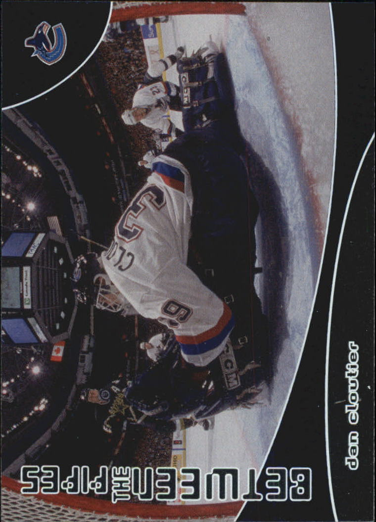 2001-02 Between the Pipes #108 Dan Cloutier