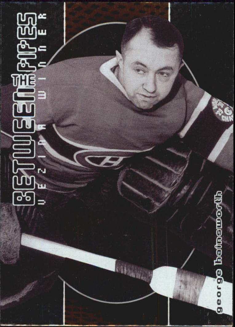 2001-02 Between the Pipes #130 George Hainsworth