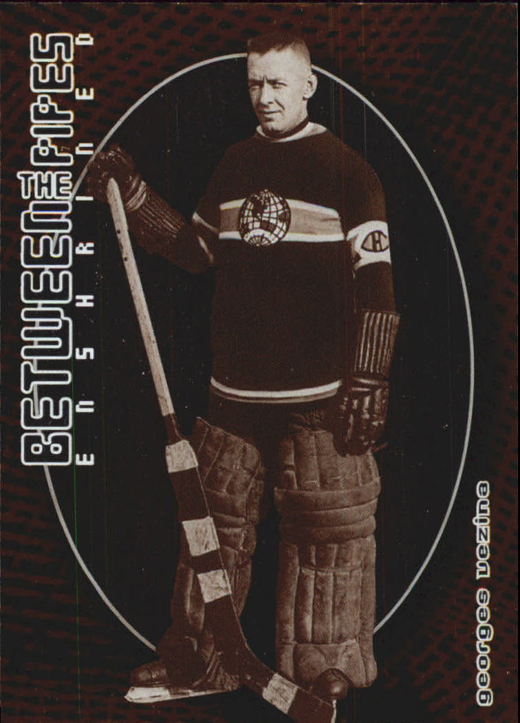 2001-02 Between the Pipes #132 Georges Vezina