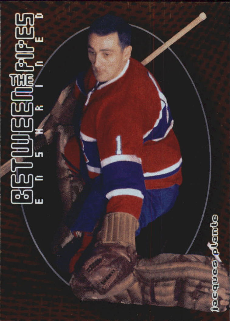 2001-02 Between the Pipes #136 Jacques Plante