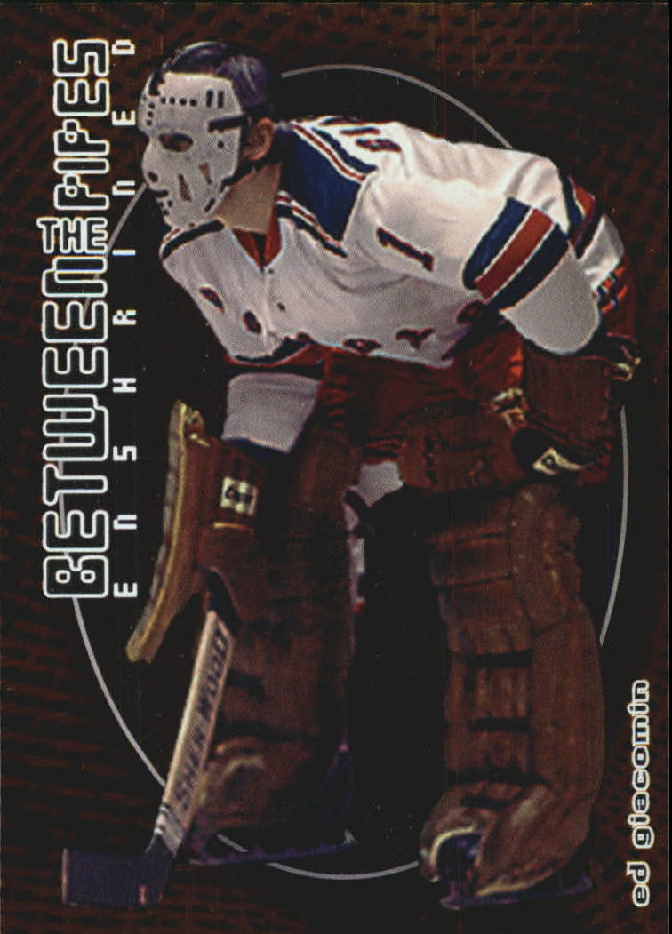 2001-02 Between the Pipes #142 Ed Giacomin