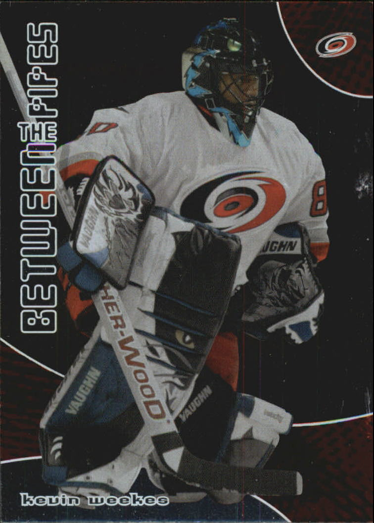 2001-02 Between the Pipes #155 Kevin Weekes
