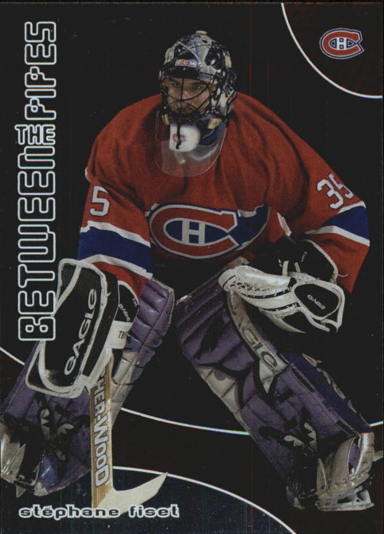 2001-02 Between the Pipes #157 Stephane Fiset