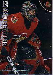 2001-02 Between the Pipes #160 Simon Lajeunesse