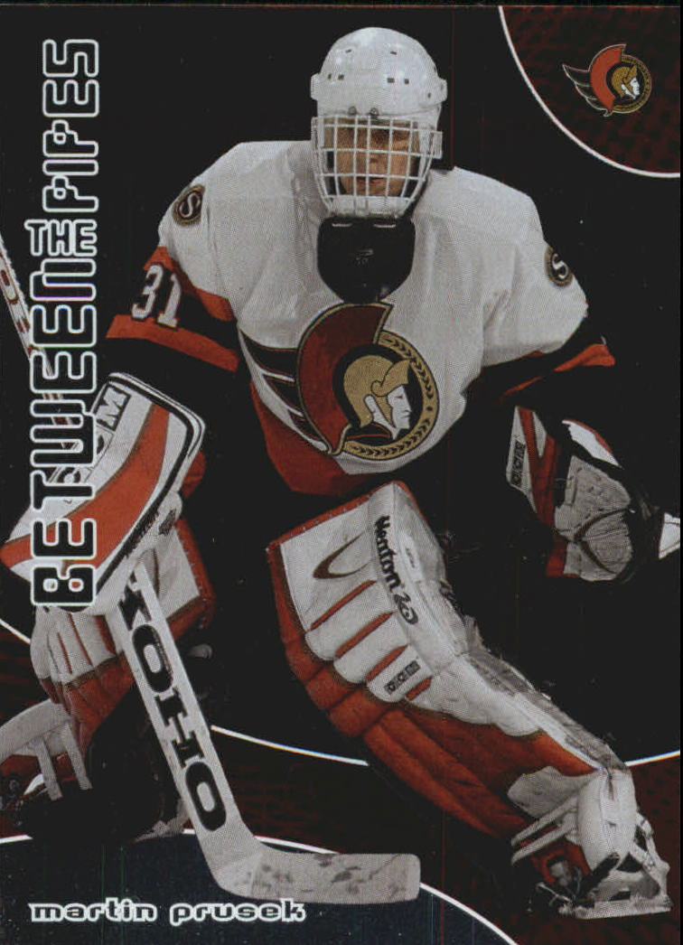 2001-02 Between the Pipes #162 Martin Prusek RC