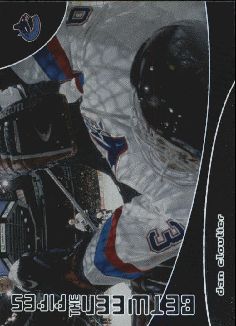 2001-02 Between the Pipes #165 Dan Cloutier