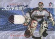 2001-02 Between the Pipes All-Star Jerseys #ASJ3 Martin Brodeur