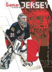 2001-02 Between the Pipes Jerseys #GJ27 Ron Tugnutt