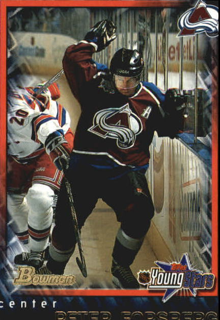 2001-02 Bowman YoungStars #73 Peter Forsberg