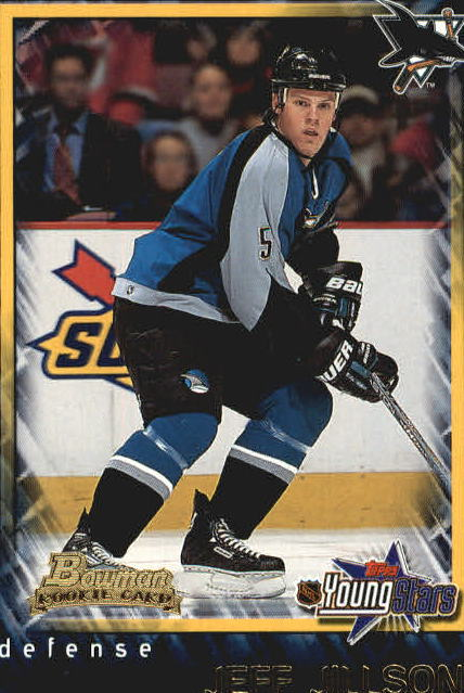 2001-02 Bowman YoungStars #135 Jeff Jillson RC