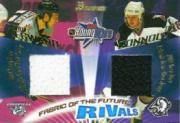2001-02 Bowman YoungStars Rivals #R8 Tim Connolly/David Legwand