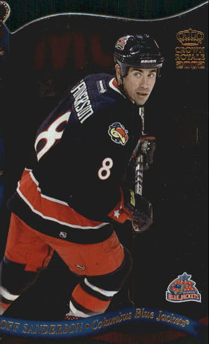 2001-02 Crown Royale #44 Geoff Sanderson