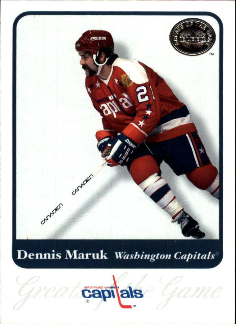 2001-02 Greats of the Game #6 Dennis Maruk
