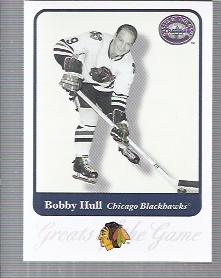 2001-02 Greats of the Game #7 Bobby Hull