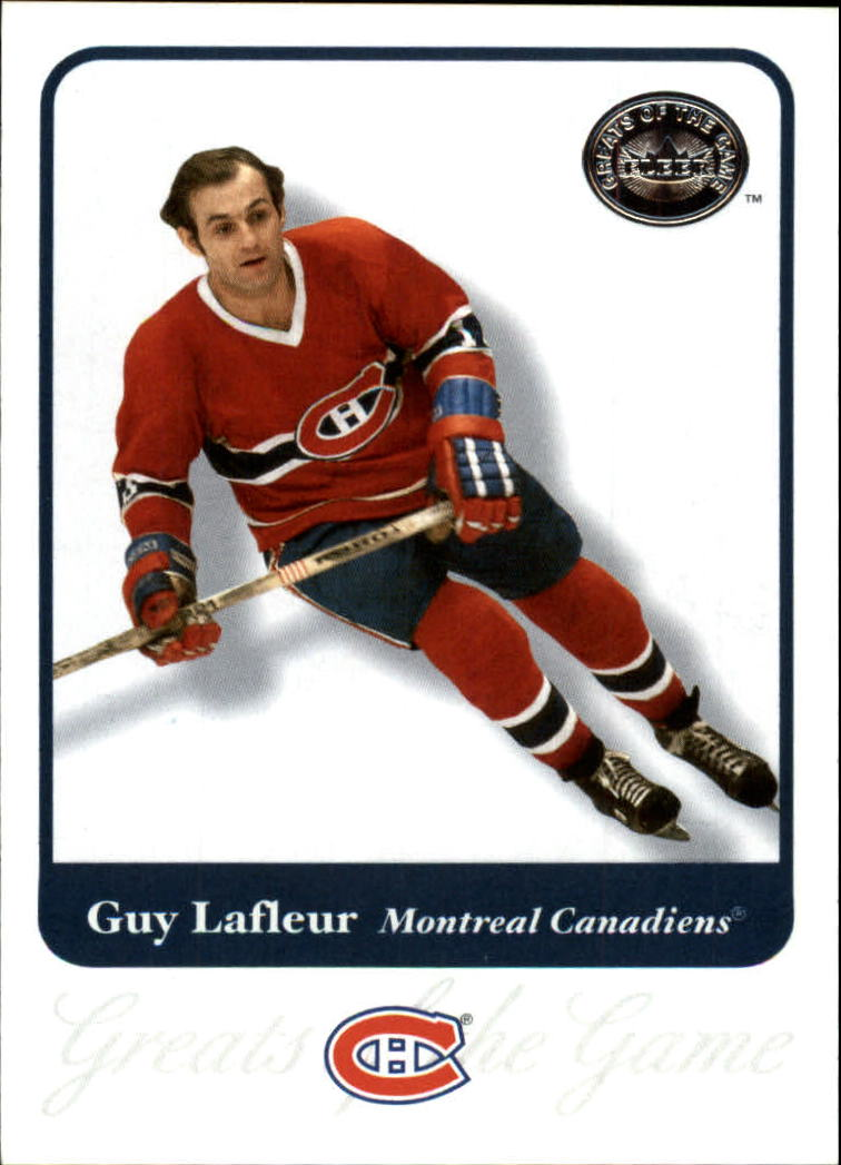 2001-02 Greats of the Game #8 Guy Lafleur