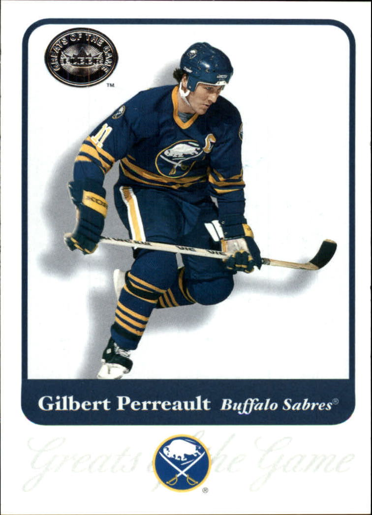 2001-02 Greats of the Game #9 Gilbert Perreault