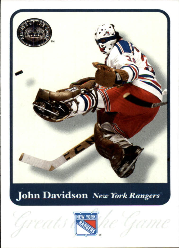 2001-02 Greats of the Game #10 John Davidson