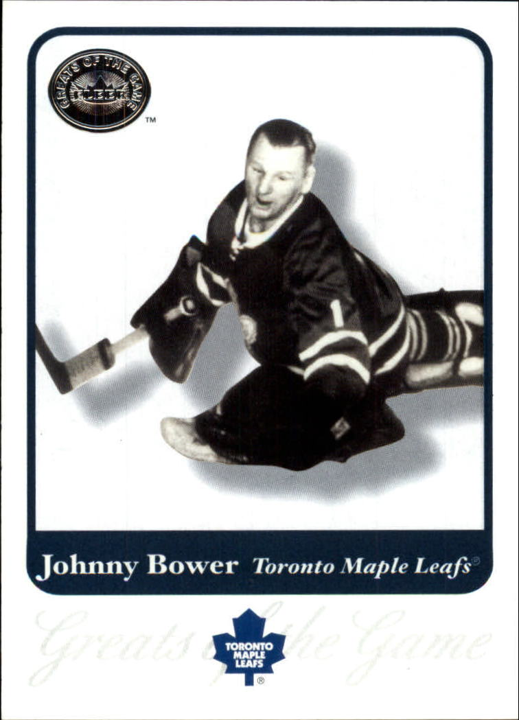 2001-02 Greats of the Game #14 Johnny Bower