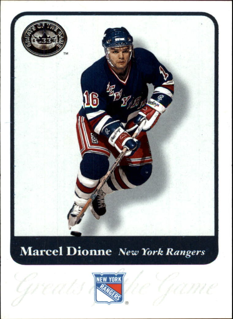 2001-02 Greats of the Game #16 Marcel Dionne