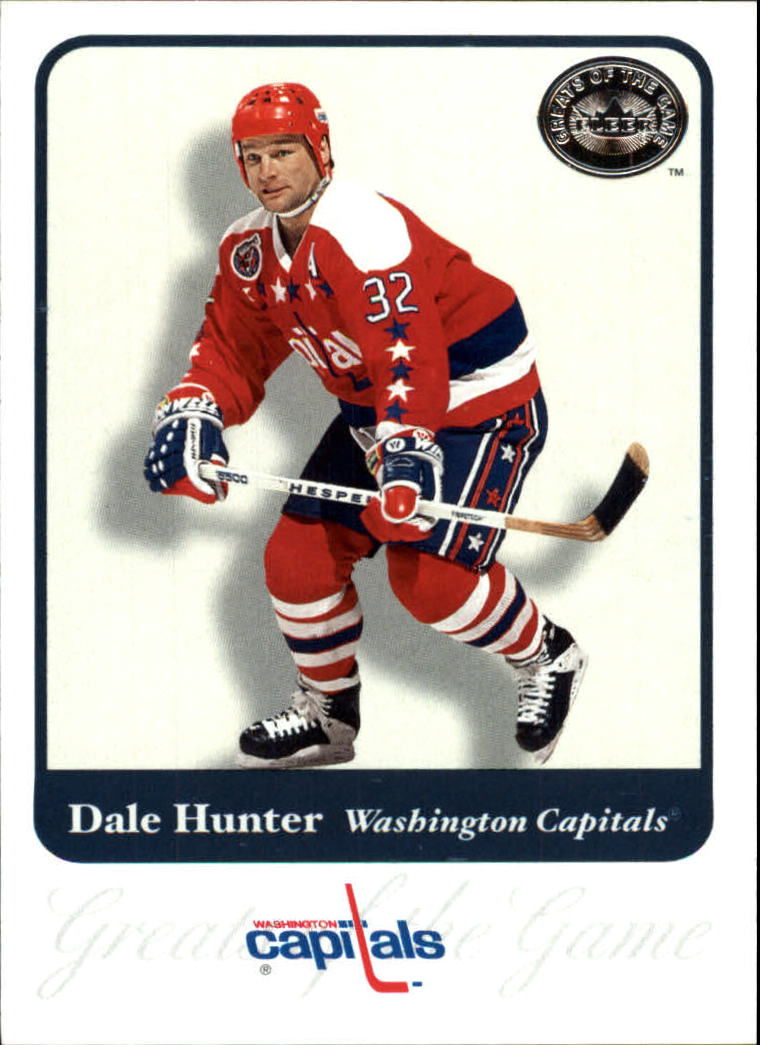 2001-02 Greats of the Game #18 Dale Hunter