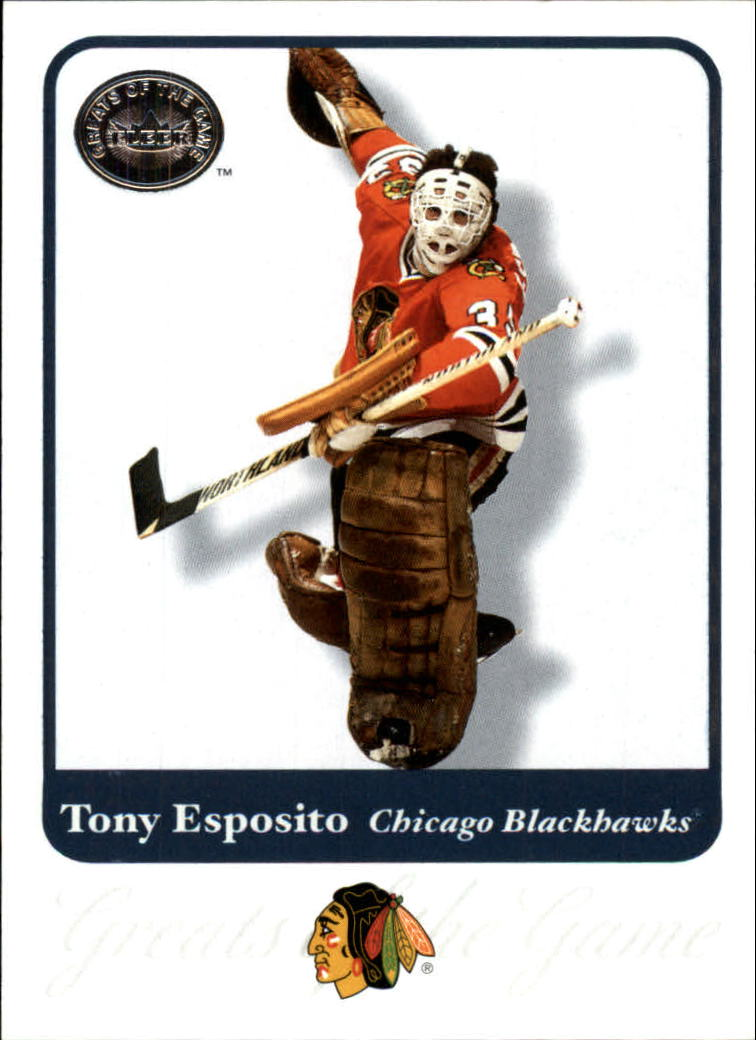 2001-02 Greats of the Game #19 Tony Esposito