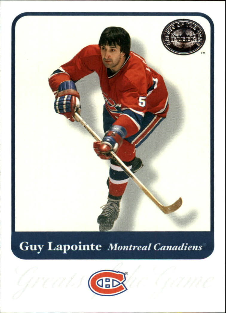 2001-02 Greats of the Game #20 Guy Lapointe