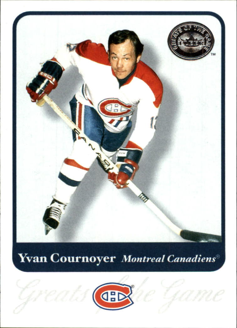 2001-02 Greats of the Game #25 Yvan Cournoyer front image