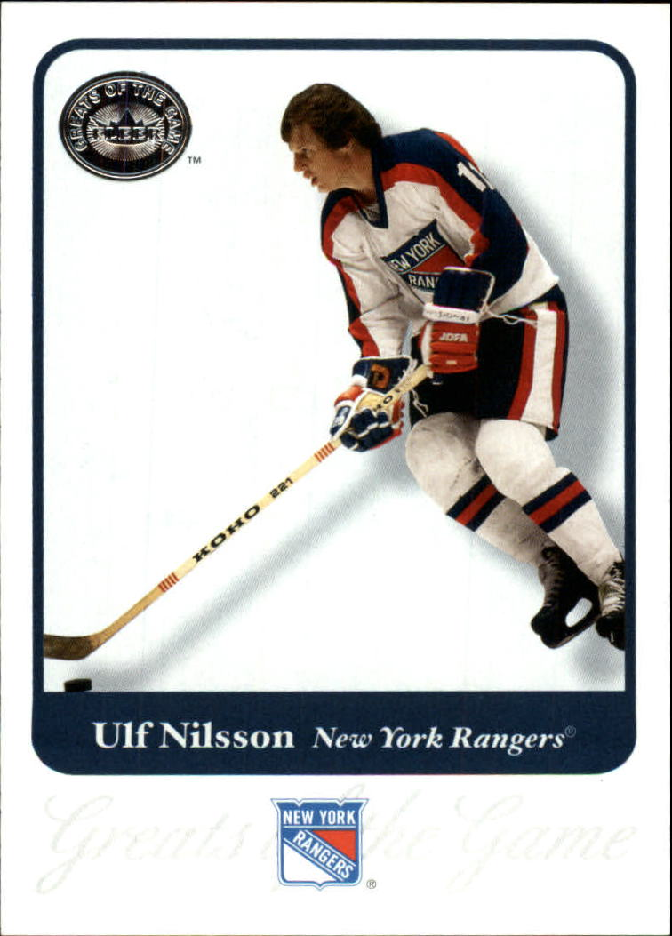 2001-02 Greats of the Game #26 Ulf Nilsson
