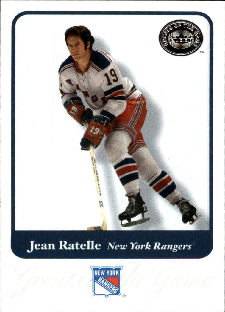 2001-02 Greats of the Game #27 Jean Ratelle