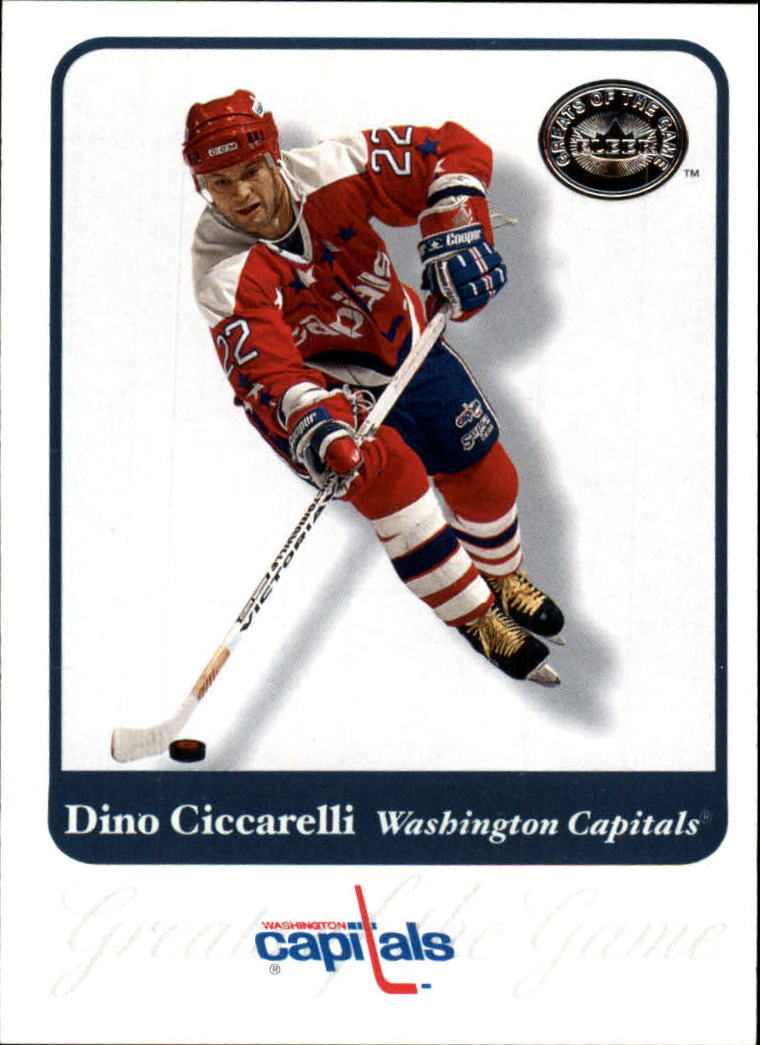 2001-02 Greats of the Game #28 Dino Ciccarelli