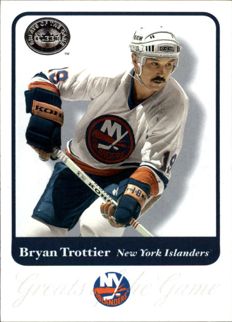 2001-02 Greats of the Game #29 Bryan Trottier