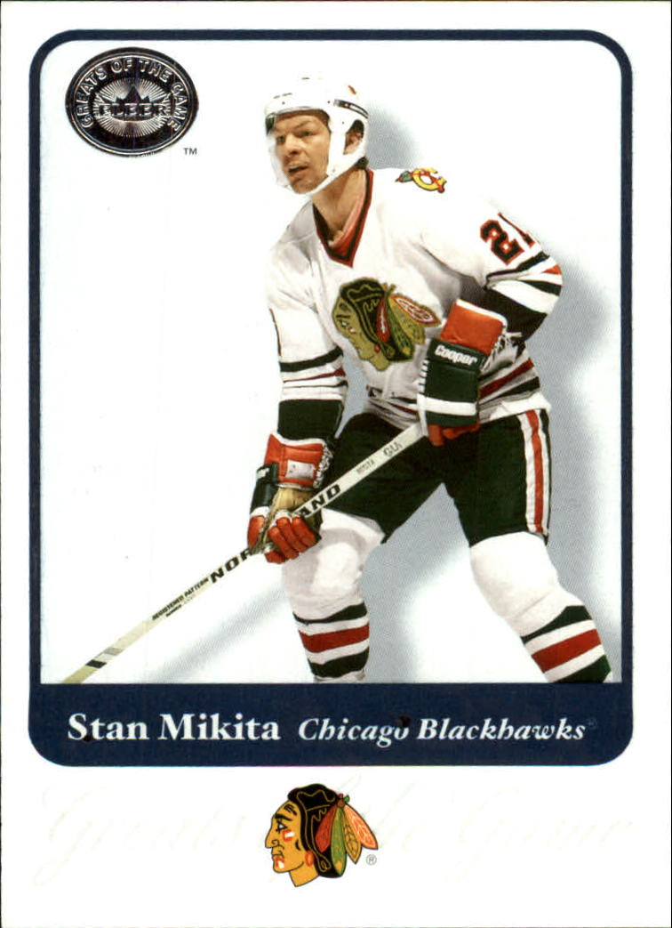 2001-02 Greats of the Game #31 Stan Mikita