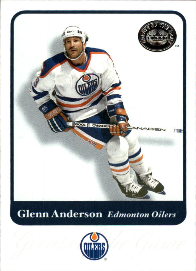 2001-02 Greats of the Game #32 Glenn Anderson