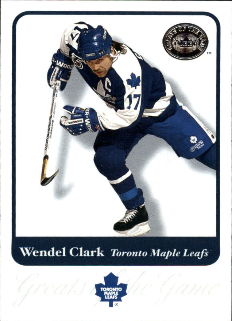 2001-02 Greats of the Game #34 Wendel Clark