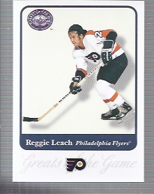 2001-02 Greats of the Game #35 Reggie Leach