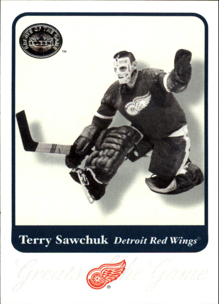 2001-02 Greats of the Game #36 Terry Sawchuk