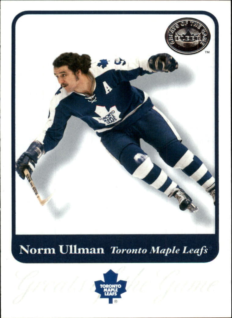 2001-02 Greats of the Game #43 Norm Ullman
