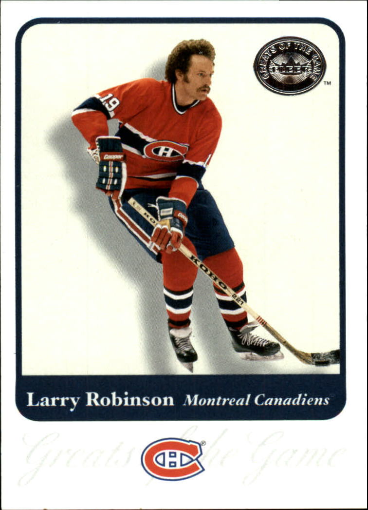 2001-02 Greats of the Game #44 Larry Robinson