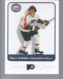 2001-02 Greats of the Game #45 Dave Schultz front image