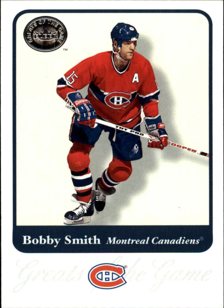 2001-02 Greats of the Game #50 Bobby Smith