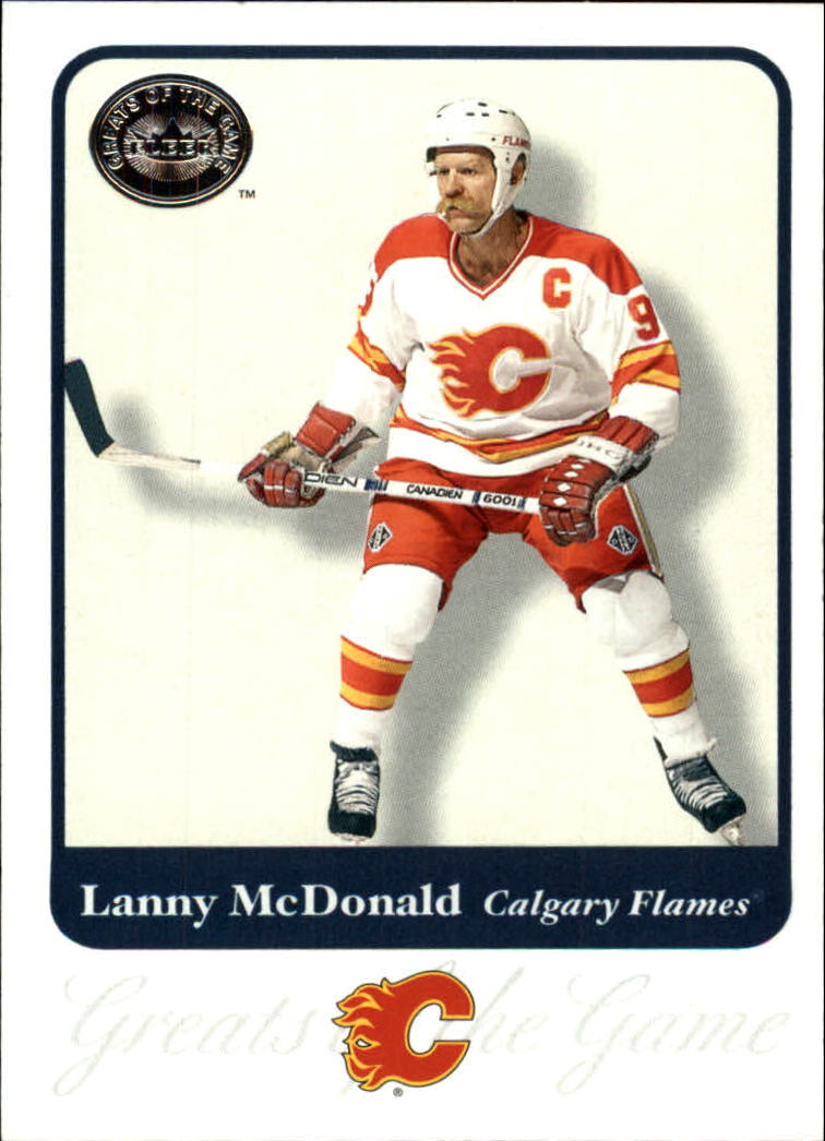 2001-02 Greats of the Game #53 Lanny McDonald