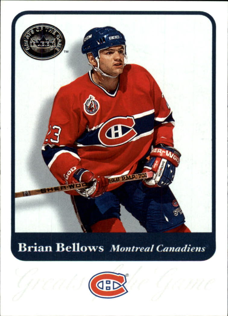 2001-02 Greats of the Game #54 Brian Bellows